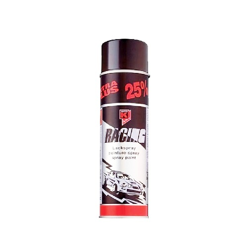 Racing Zwart Glans 500ml