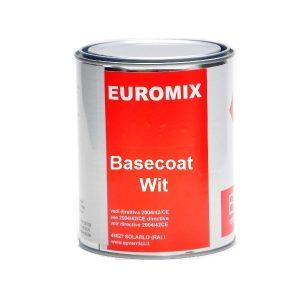 Basecoat wit readymix